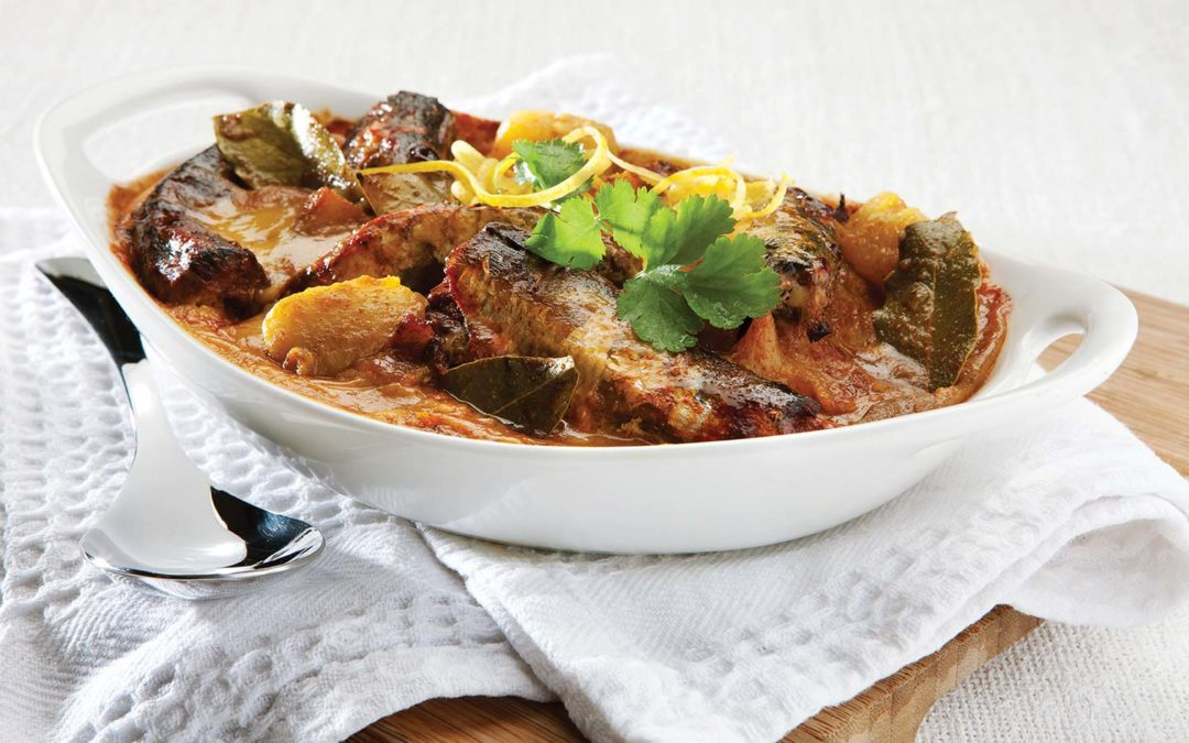 Pilchards Sweet Potato Bake