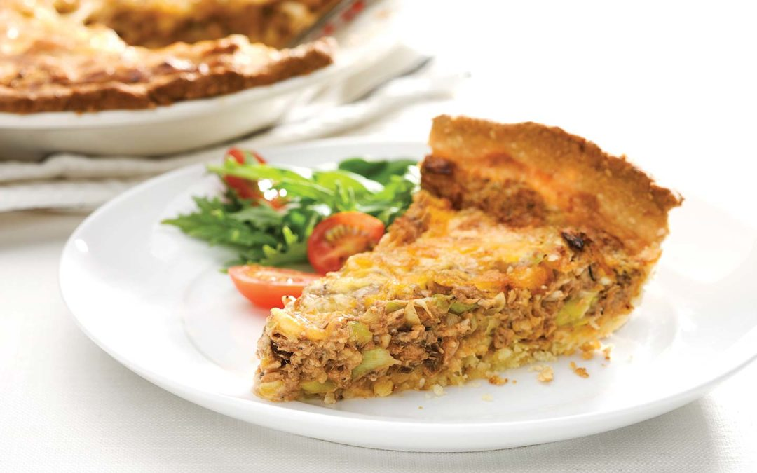 Pilchards Leek Pie