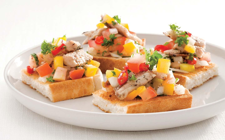Chunky Sardines on Toast