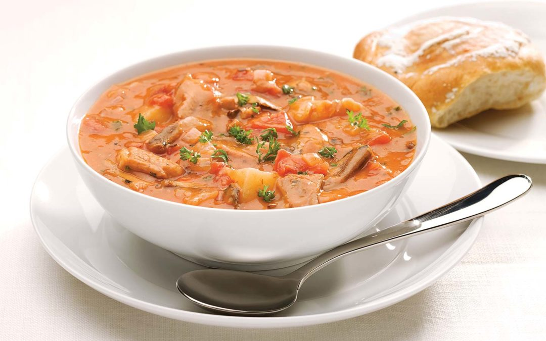 Pilchards Soup (West Coast Chowder)